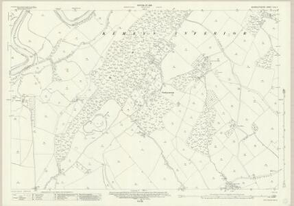 Monmouthshire XXIX.7 (includes: Cemais; Langstone; Llanhennock Fawr) - 25 Inch Map