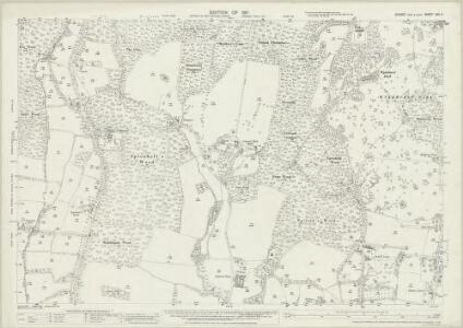 Sussex XXV.11 (includes: Bolney) - 25 Inch Map