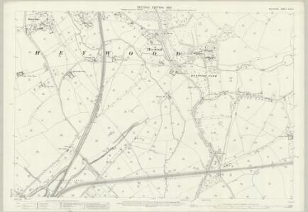 Wiltshire XLIV.4 (includes: Heywood; Westbury) - 25 Inch Map
