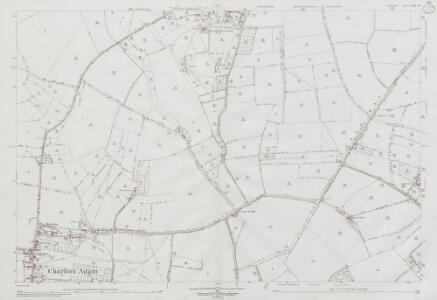 Somerset LXIV.13 (includes: Babcary; Charlton Mackrell; Keinton Mandeville; Kingweston; Lydford) - 25 Inch Map
