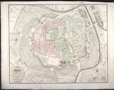 Neuester Plan der Haupt- und Residenzstadt Wien