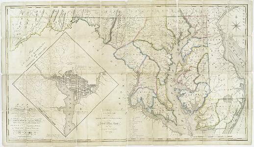 Map of the state of Maryland : laid down from an actual survey of all the principal waters, public roads, and divisions of the counties therein : describing the situation of the cities, towns, villages, houses of worship and other public buildings, furna