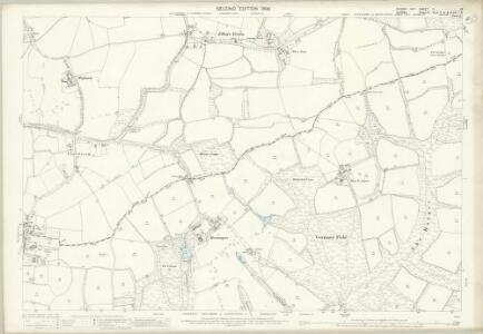 Sussex II.13 (includes: Abinger; Ewhurst; Rudgwick) - 25 Inch Map