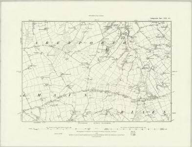 Cardiganshire XXX.SW - OS Six-Inch Map