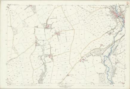 Cornwall LXXVI.9 (includes: Helston; Sithney) - 25 Inch Map