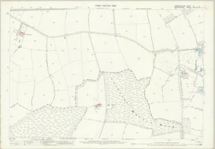 Cambridgeshire LII.2 (includes: Cockayne Hatley; Gamlingay; Hatley St George; Potton; Tadlow) - 25 Inch Map