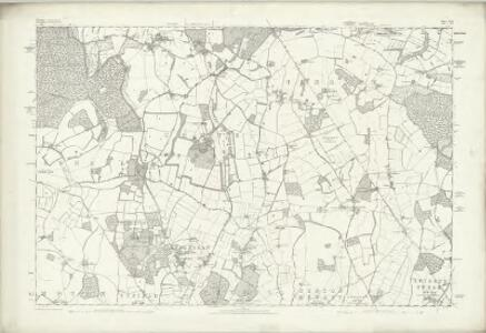 Wiltshire XLIX - OS Six-Inch Map