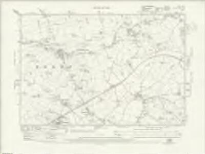 Staffordshire XVI.SE - OS Six-Inch Map