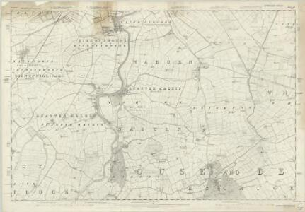 Yorkshire 191 - OS Six-Inch Map