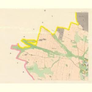 Jettenowitz (Jetenowice) - c2866-1-003 - Kaiserpflichtexemplar der Landkarten des stabilen Katasters