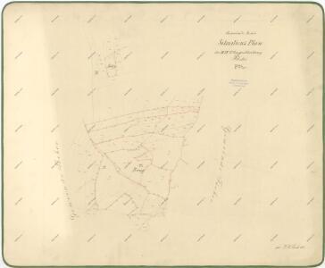 Hranicni Mapa Lesnich Parcel V Katastru Obce Rocov 1