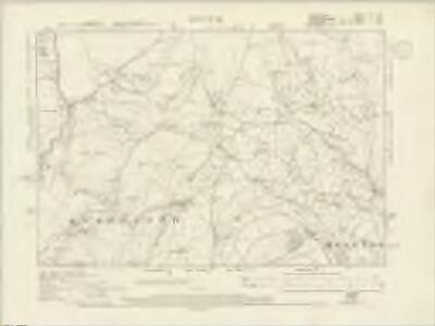 Derbyshire XXI.SE - OS Six-Inch Map