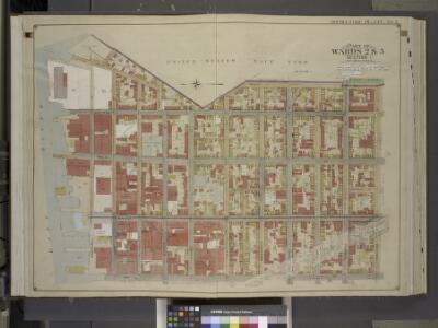 Brooklyn, Vol. 1, Double Page Plate No. 2; Part of    Wards 2 & 5, Section 1; [Map bounded by Little St., Evans St., Hudson Ave., Navy St.; Including  Concord St., Jay St., Marshall St.]