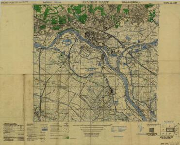 Holland 1:25,000, Arnhem (East)