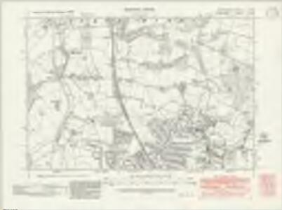 Hertfordshire XL.NE - OS Six-Inch Map