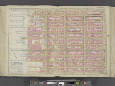 Manhattan, Double Page Plate No. 19 [Map bounded by W. 47th St., 8th Ave., W. 36th St., Hudson River]