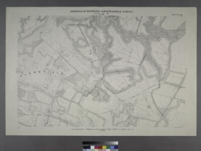 Sheet No. 20. [Includes Lamberts Lane, South Avenue and Hughes Avenue in Bloomfield.]; Borough of Richmond, Topographical Survey.