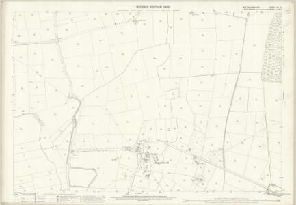 Nottinghamshire XXI.9 (includes: North Scarle; South Clifton; Spalford; Wigsley) - 25 Inch Map