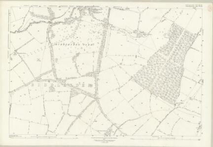 Northamptonshire LIX.16 (includes: Biddlesden; Shalstone; Syresham; Whitfield) - 25 Inch Map