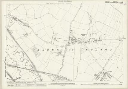 Derbyshire XIII.1 (includes: Aston cum Aughton; Beighton; Sheffield) - 25 Inch Map