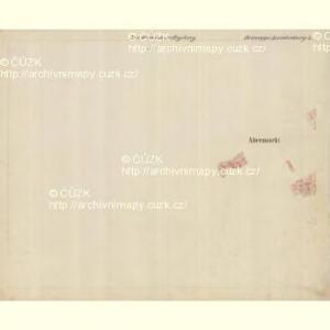 Lunderburg - m0243-1-006 - Kaiserpflichtexemplar der Landkarten des stabilen Katasters