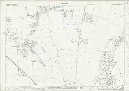 Buckinghamshire LVI.11 (includes: Datchet; Horton; Stoke Poges) - 25 Inch Map