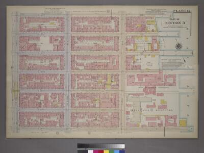 Plate 12, Part of Section 3: [Bounded by E. 32nd Street, (East River Piers) First Avenue, E. 26th Street and Third Avenue.]