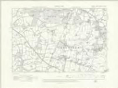 Sussex XIII.NW - OS Six-Inch Map