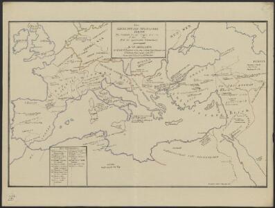 [Hierographie, oder topographisch-synchronistische Darstellung der Geschichte der christlichen Kirche] : IV. Von Constantin bis auf Gregor d. G. J. 325-604