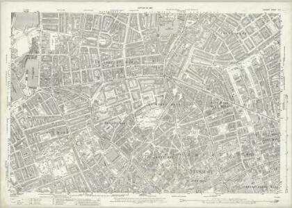 London (1915- Numbered sheets) V.6 (includes: Finsbury; Holborn; Islington; St Pancras) - 25 Inch Map