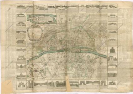Nouveau Plan de la ville et Fauxbourgs de Paris...