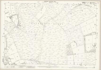 Yorkshire CCXCIII.3 (includes: Bradfield; Derwent; Outseats) - 25 Inch Map