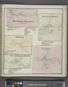Beechers Hollow [Village]; Beechers Hollow Business Directory. ; Batchellorville Business Directory. ; Wilton [Village]; Wilton Business Directory. ; Porters [Village]; Porters Corners Business Directory. ; Batchellorville [Village]; Galway Business Dire