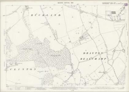 Buckinghamshire XXXIV.7 (includes: Aston Clinton; Buckland; Drayton Beauchamp) - 25 Inch Map