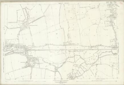 Suffolk LXXII.1 (includes: Cavendish; Foxearth; Glemsford; Pentlow) - 25 Inch Map