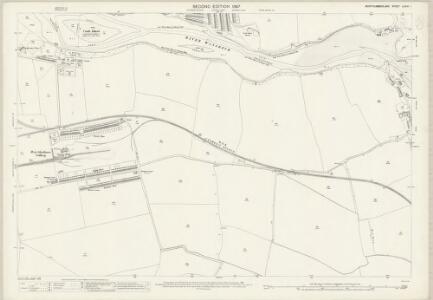 Northumberland (Old Series) LXXIII.1 (includes: Ashington; Bedlington; Newbiggin By The Sea) - 25 Inch Map