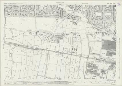 Essex (New Series 1913-) n LXXXVII.5 (includes: Barking; Dagenham) - 25 Inch Map