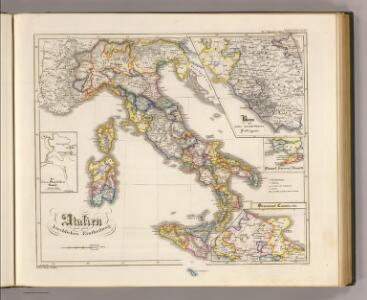 Italien nach seiner kirchlichen Eintheilung.