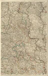 Carte Du Théatre De La Guerre Présente En Westphaliae Avec Les Pays Voisins