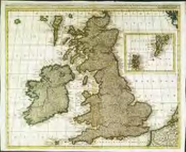 Magna Britannia, aut Anglia, Scotia et Hibernia