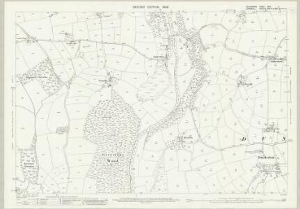 Devon XCVI.11 (includes: Bradstone; Dunterton; Lezant) - 25 Inch Map
