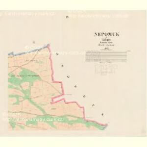 Nepomuk - c5041-1-004 - Kaiserpflichtexemplar der Landkarten des stabilen Katasters
