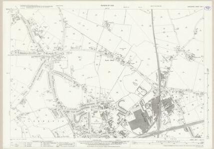 Lancashire CXV.1 (includes: Bold; Cronton; Widnes) - 25 Inch Map