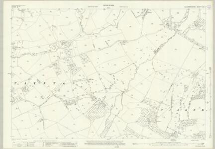 Gloucestershire XXIV.7 (includes: Taynton; Tibberton) - 25 Inch Map