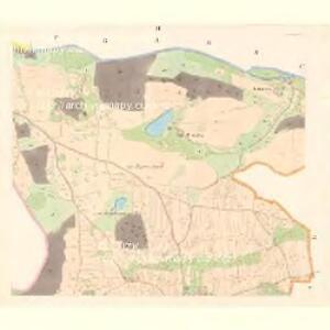 Zalužy - c9124-1-002 - Kaiserpflichtexemplar der Landkarten des stabilen Katasters