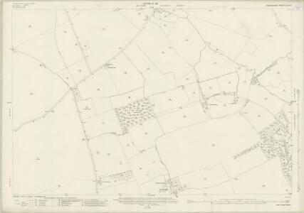 Oxfordshire XLVI.12 (includes: Brightwell Baldwin; Chalgrove; Ewelme; Newington) - 25 Inch Map