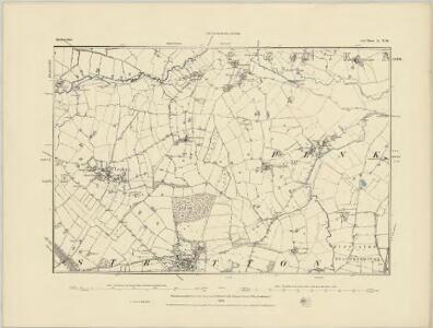 Staffordshire XLIV.NE - OS Six-Inch Map