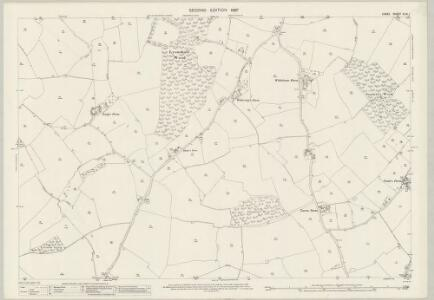 Essex (1st Ed/Rev 1862-96) XLIV.1 (includes: Great and Little Leighs; Little Waltham) - 25 Inch Map