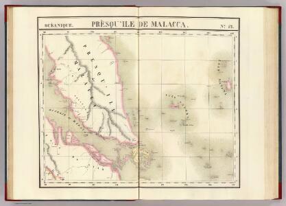 Presqu'ile de Malacca. Oceanique no. 12.