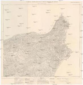Carta topografica dell'isola di Rodi